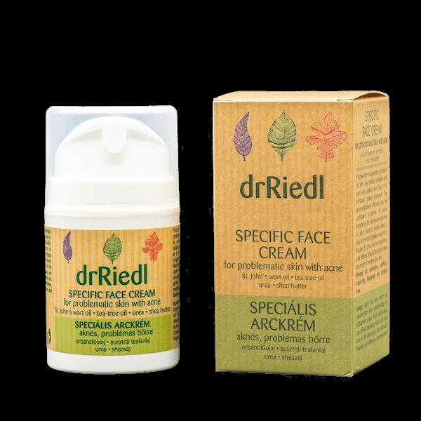 drRiedl speciális arckrém aknés, problémás bőrre 50 ml