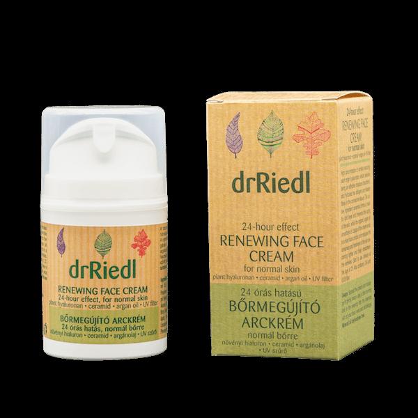 drRiedl 24 órás hatású bőrmegújító arckrém normál bőrre 50ml